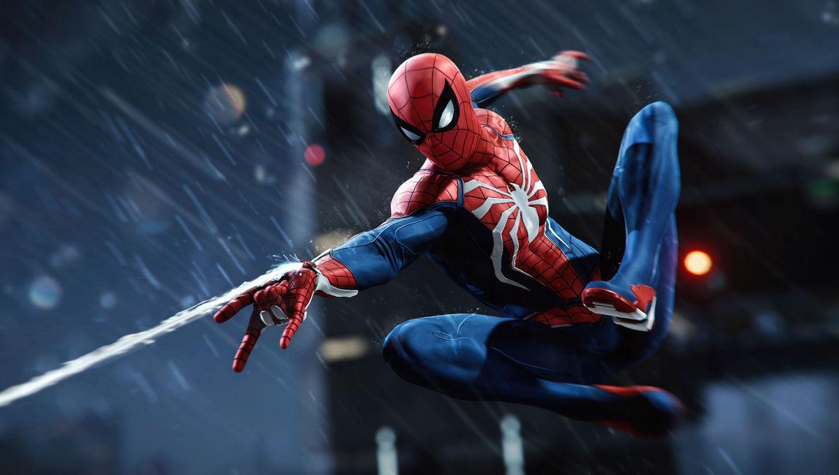 Spider-Man PS4 swing shot