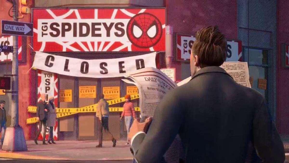 Spider-Man Spider-Verse TGI Spideys