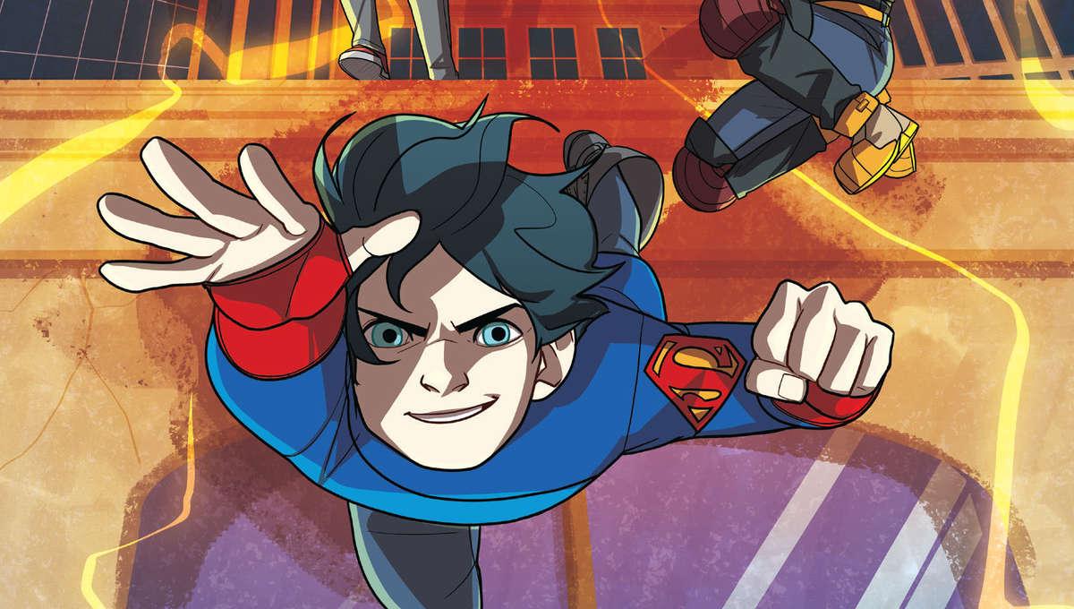 Super Sons: The Foxglove Mission cover