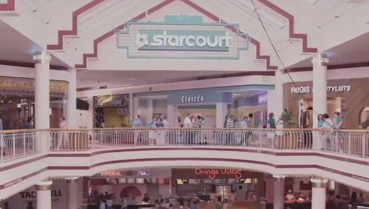 Starcourt Mall Stranger Things
