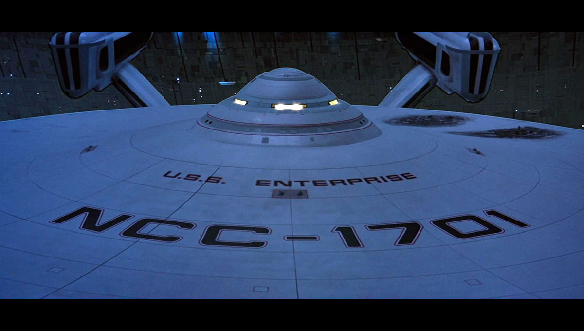 USS Enterprise from Star Trek III: The Search for Spock