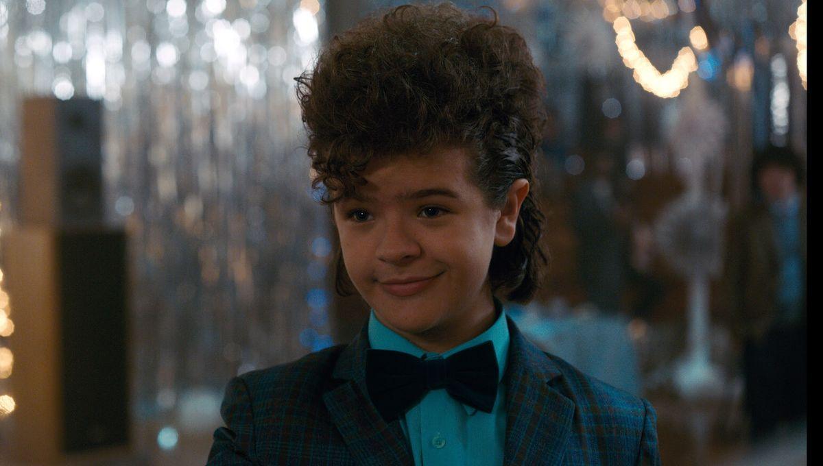 Stranger Things Dustin hair