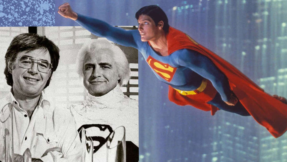 Superman Christopher Reeve Richard Donner Cover