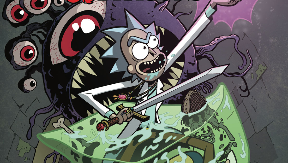 Rick and Morty vs Dungeons and Dragons Hero