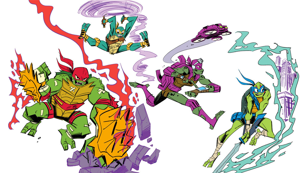 Exclusive The Creators Of Rise Of The Teenage Mutant Ninja