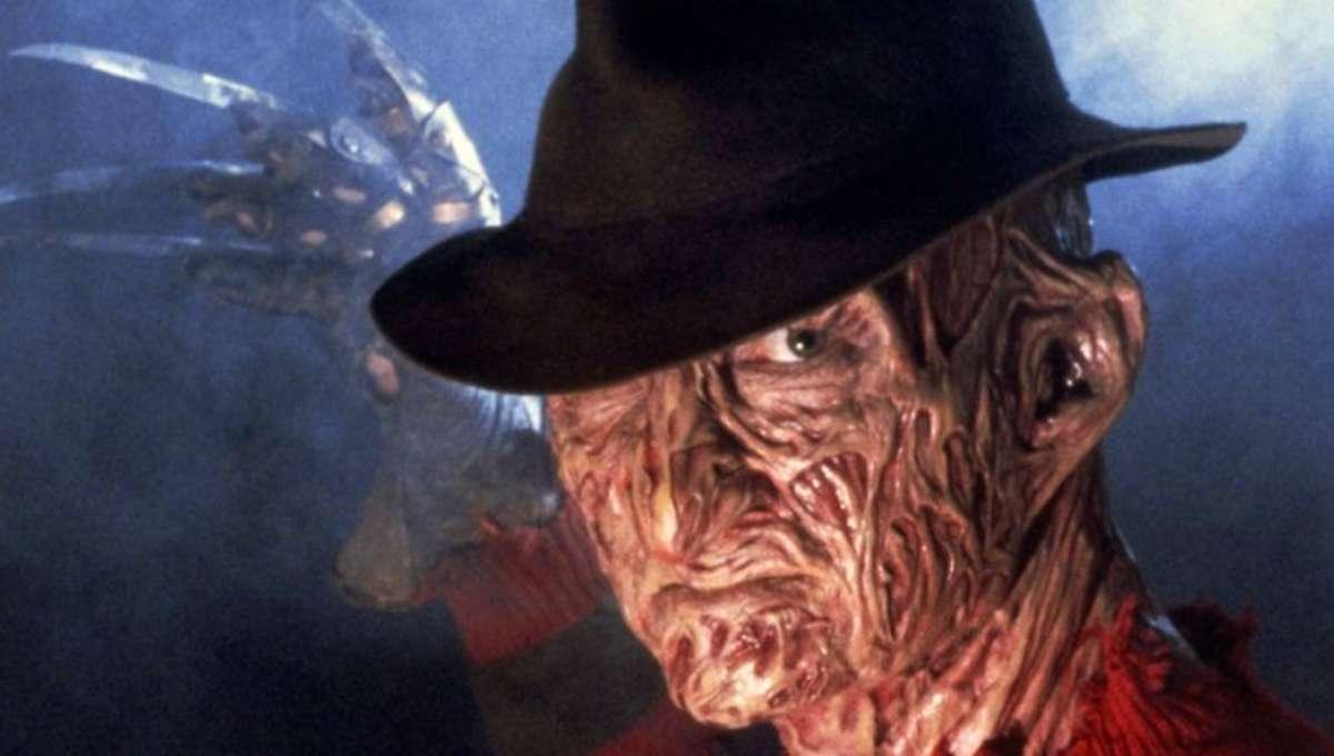 Robert Englund a Freddy Krueger in A Nightmare on Elm Street