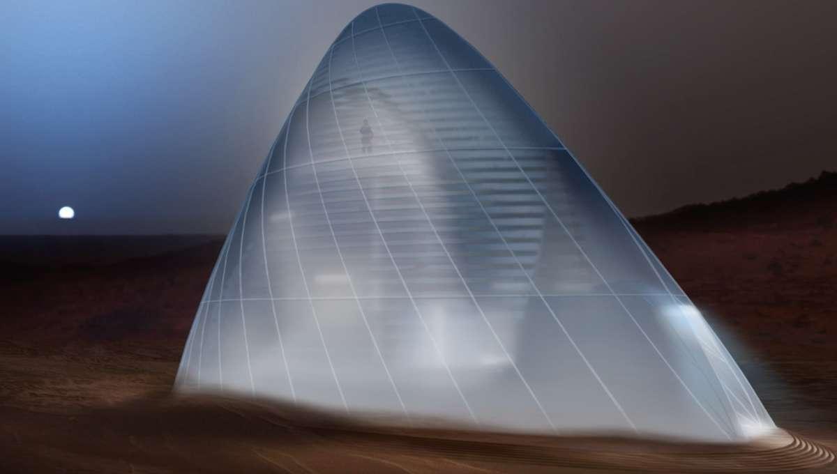 Mars Ice House habitat