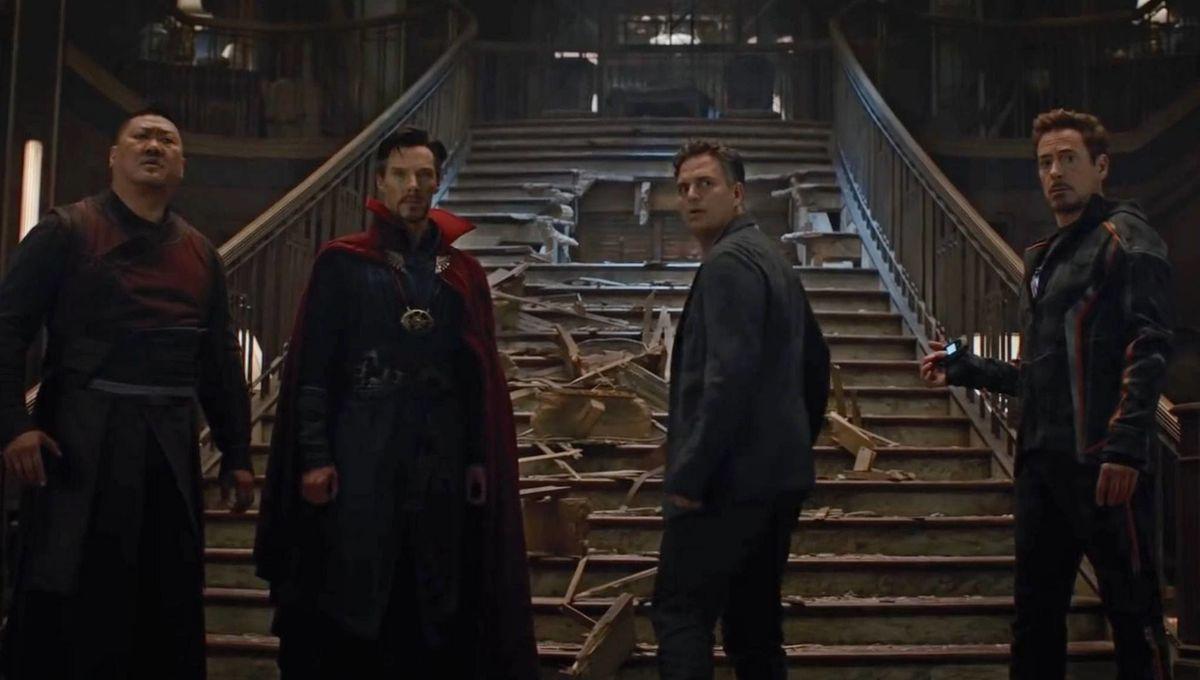 Infinity War Wong Strange Banner Stark
