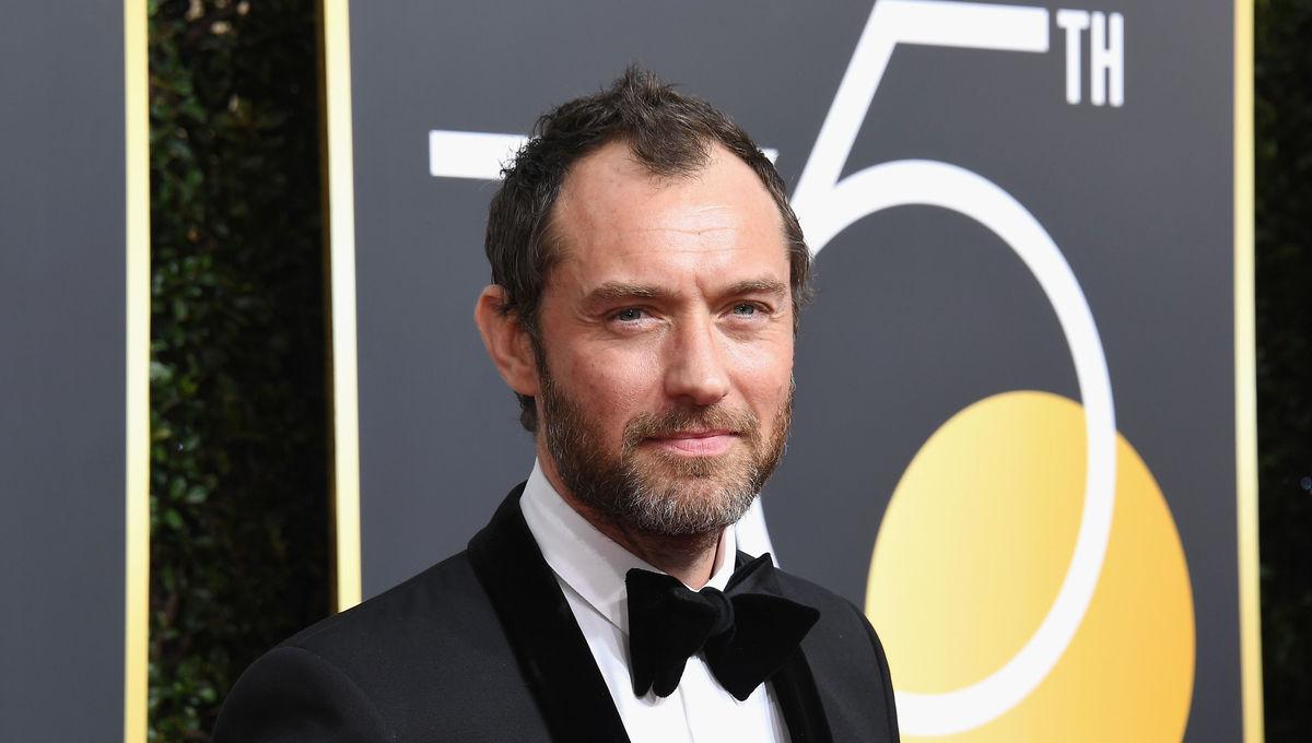 Jude Law Golden Globes 2018
