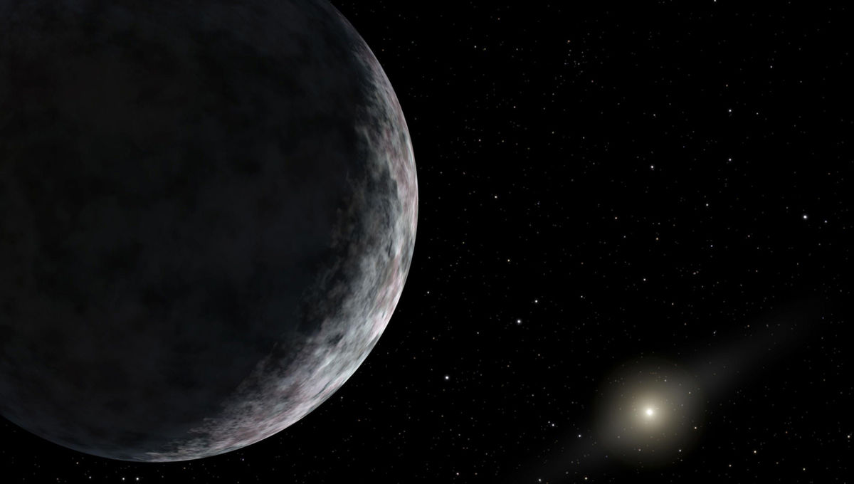 kbo_art_3Artist's depiction of a distant Kuiper Belt object, the Sun, and inner solar system far, far away. Credit: NASA/JPL-Caltech