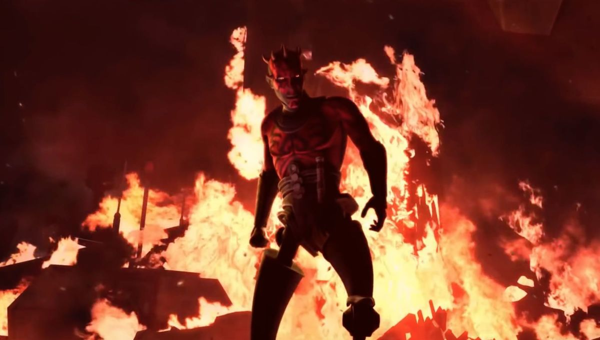 Maul returns in Star Wars: The Clone Wars