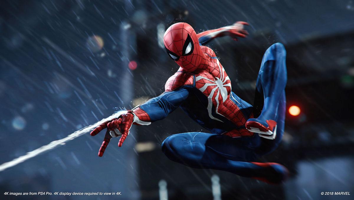 Insomniac Spider-Man PlayStation 4
