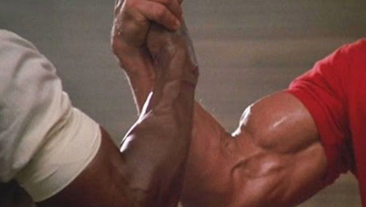 Predator handshake