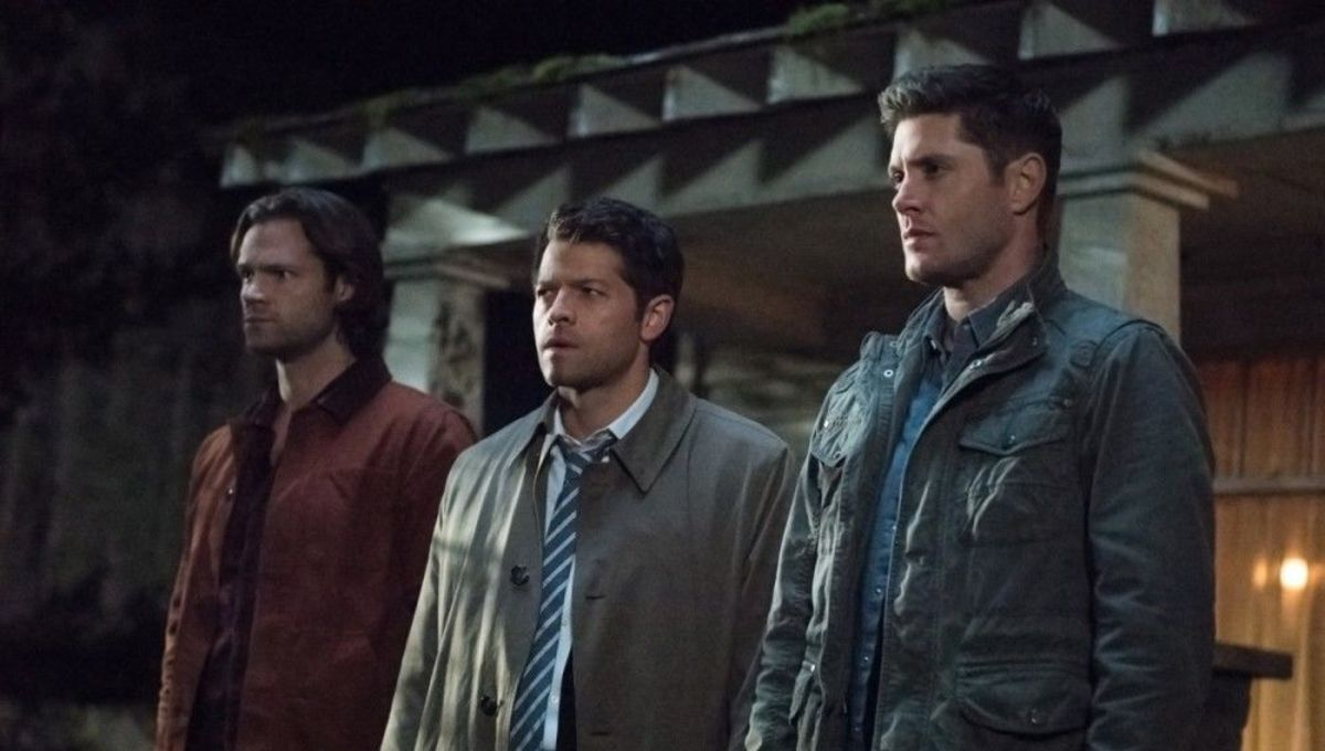 Supernatural, Sam, Dean and Castiel
