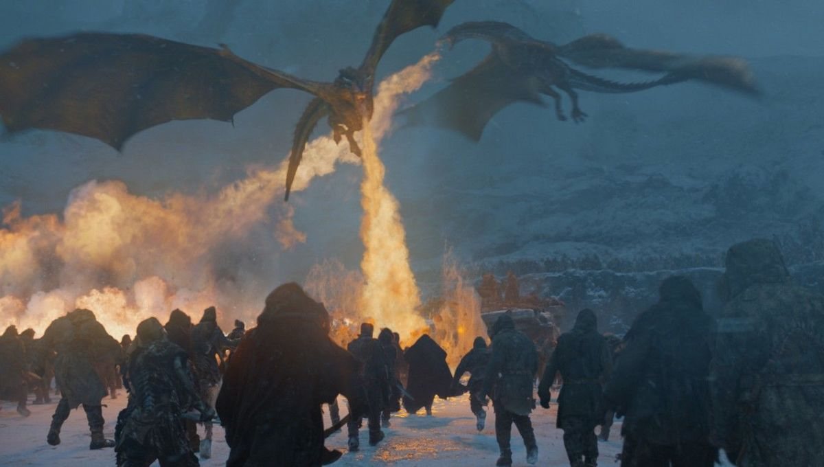 Game of Thrones dragons Beyond the Wall