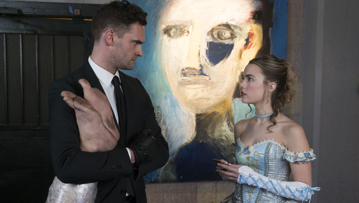 Into The Dark The Body Rebecca Rittenhouse Tom Bateman Hulu Blumhouse TV