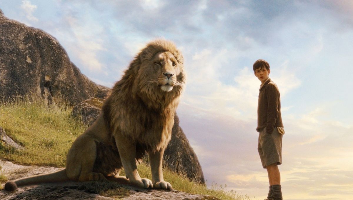 Chronciles of Narnia Edmund and Aslan