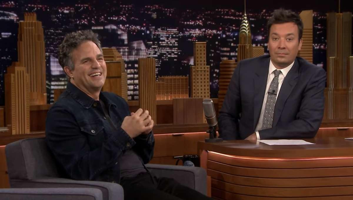 Mark Ruffalo Tonight Show