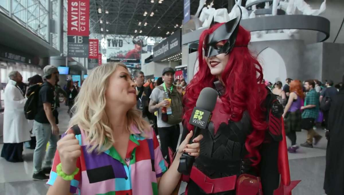 New York Comic Con 2018 Cosplay SYFY WIRE Screengrab