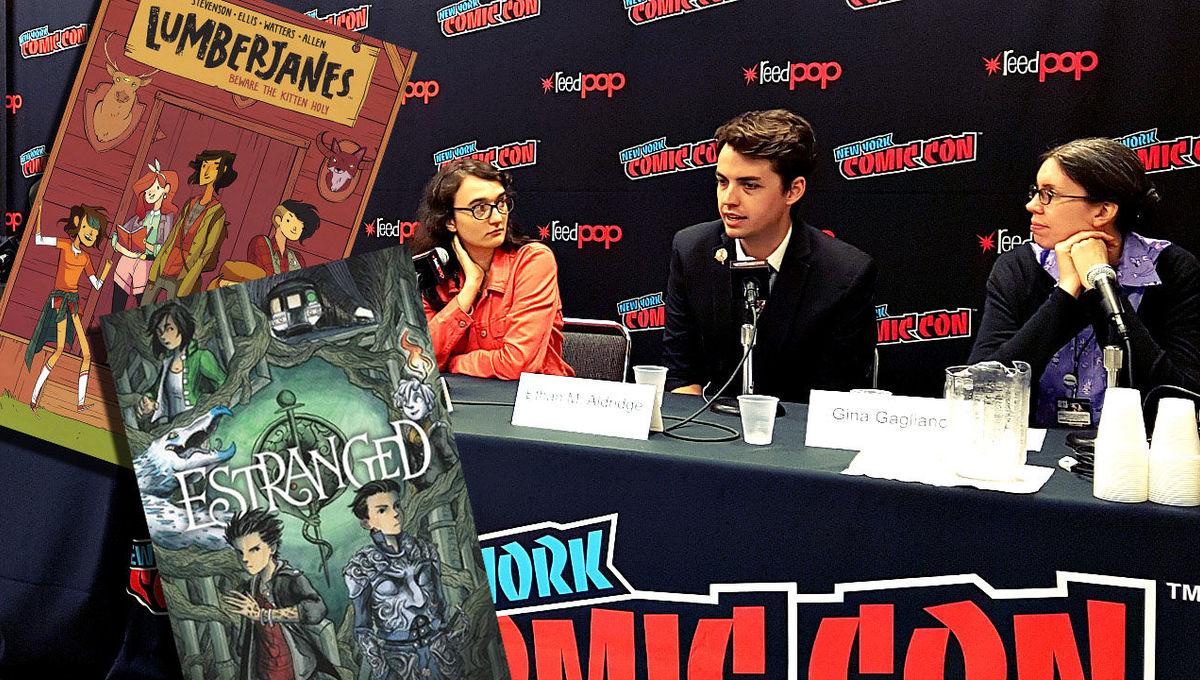 LGBTQ+ in children's comics panel