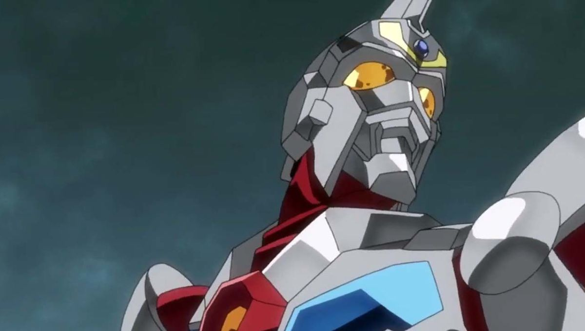 Superhuman Samurai Syber-Squad Gridman hero