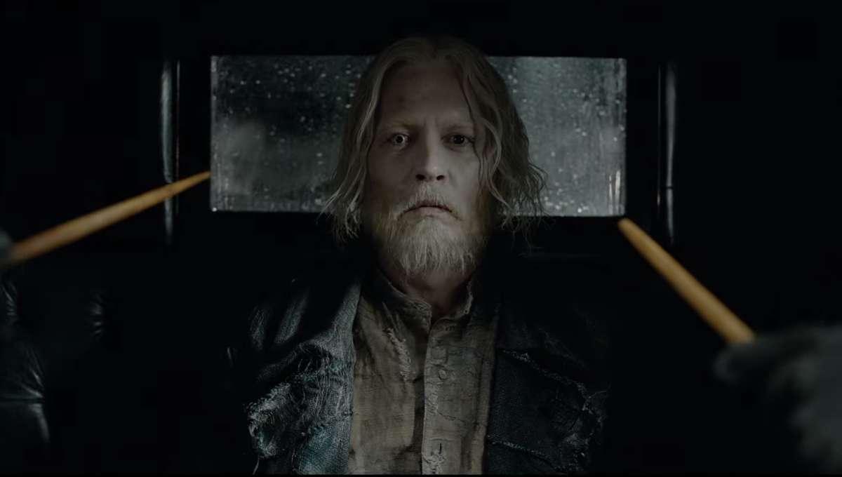 Grindelwald Johnny Depp