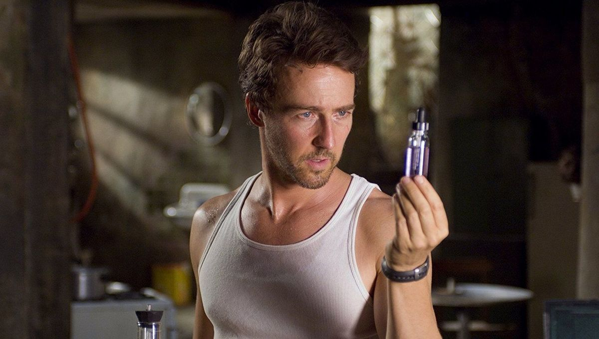 Edward Norton In The Incredible Hulk