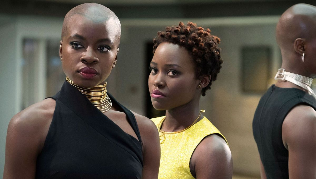 Dora Milaje, Nakia and Okoye, Black Panther