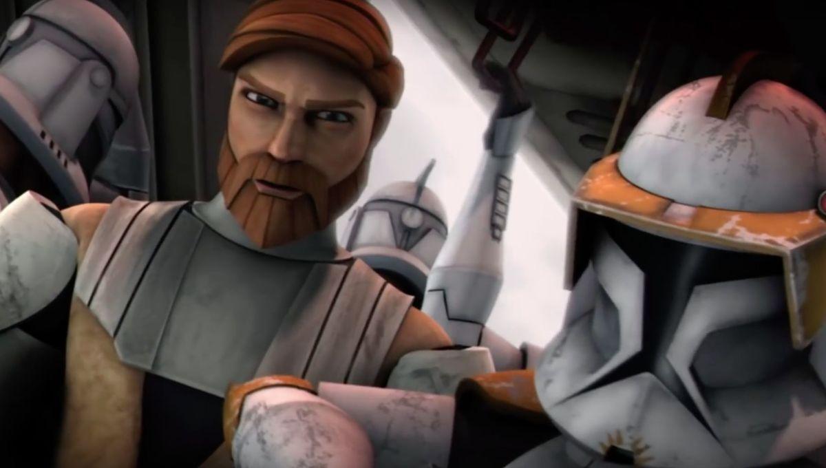 Star Wars: The Clone Wars (Obi-Wan and Cody)