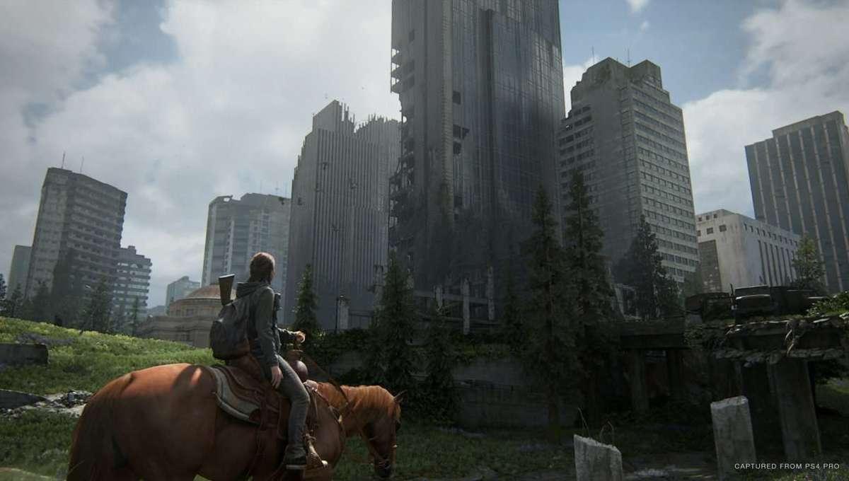 The Last of Us Part II Ellie in Seattle