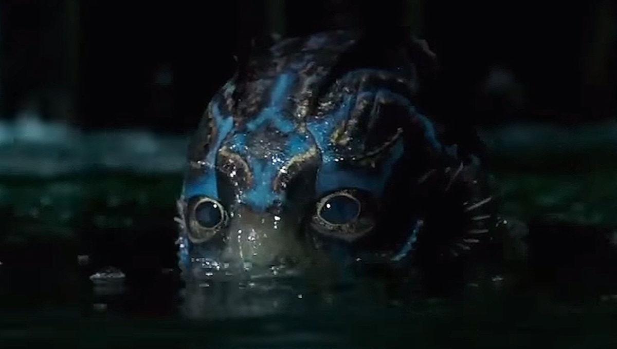 Shape of Water Fish Man Eyes