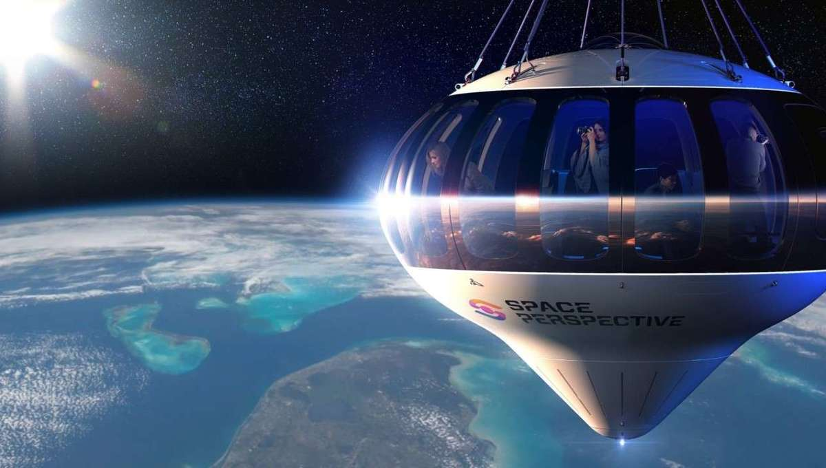 Space Perspective Neptune Spaceship