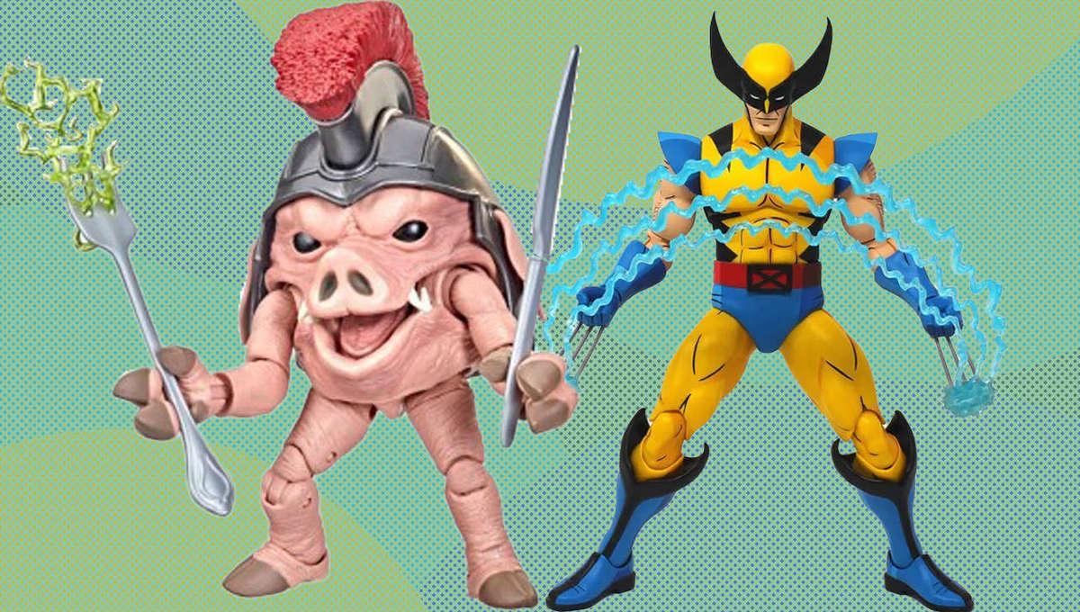 Toy News Porky Pig Wolverine Header