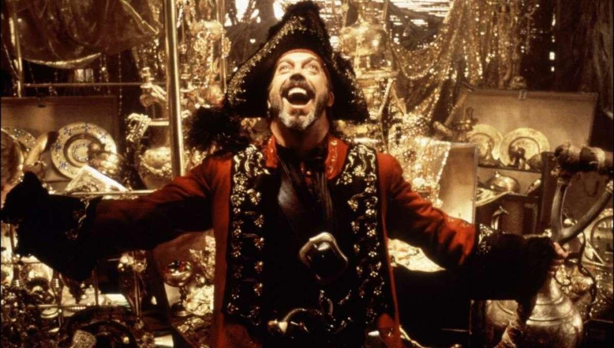 Tim Curry in Muppet Treasure Island