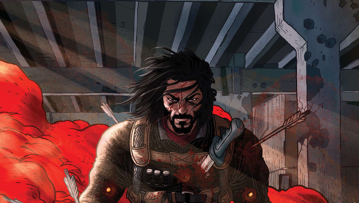 Here is first look at Keanu Reeves's limited comic book series