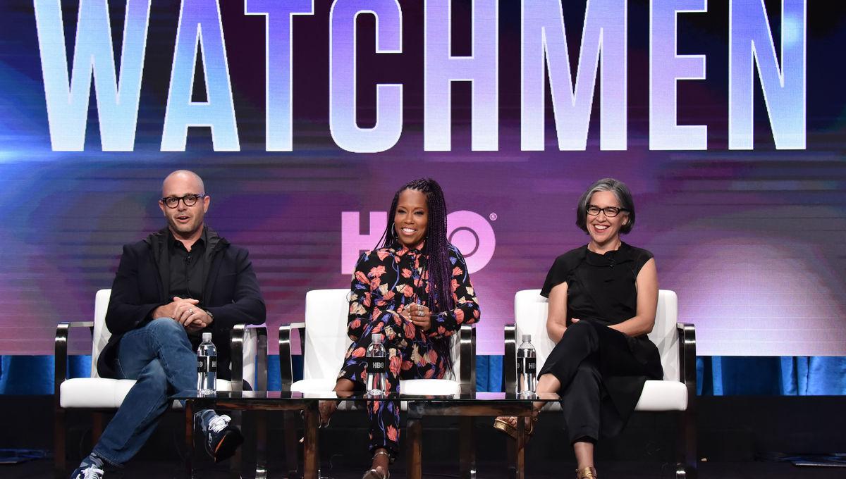 Watchmen creators attends TCA 2019 in Los Angeles