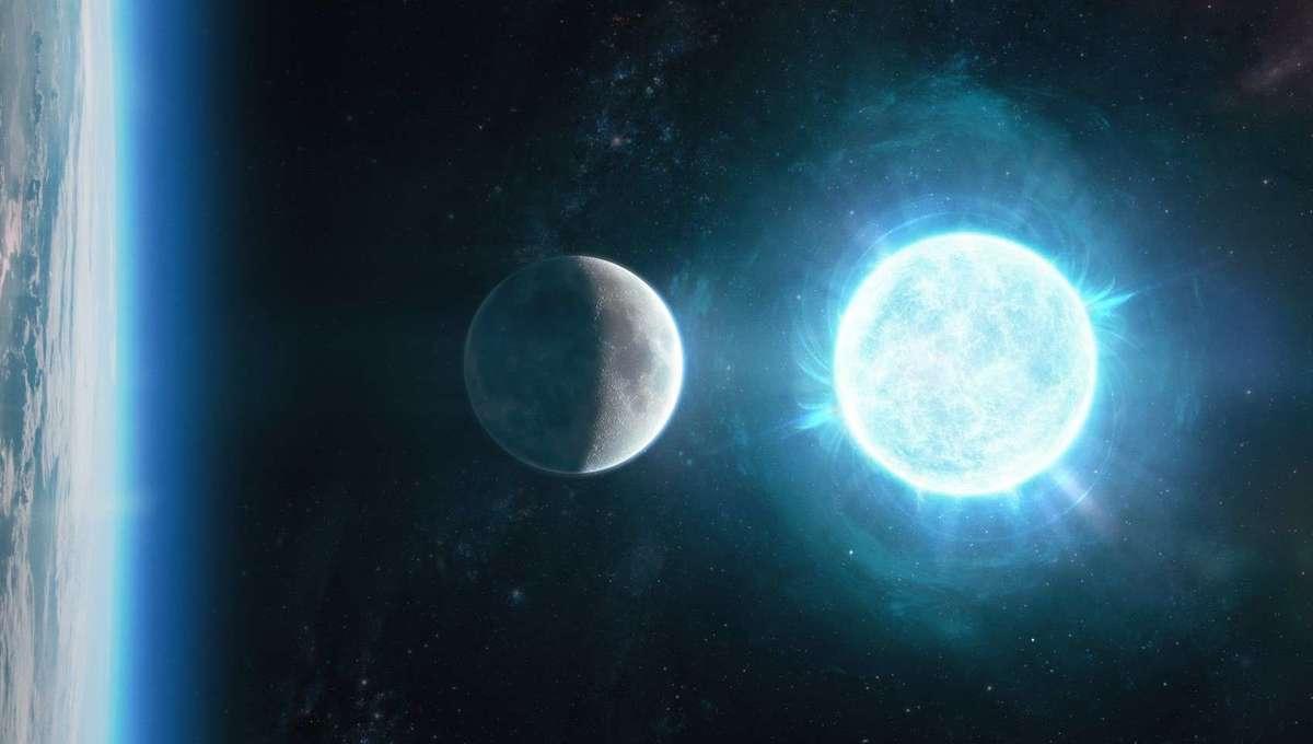 Philip Plait Bad Astronomy White Dwarf Moon Earth