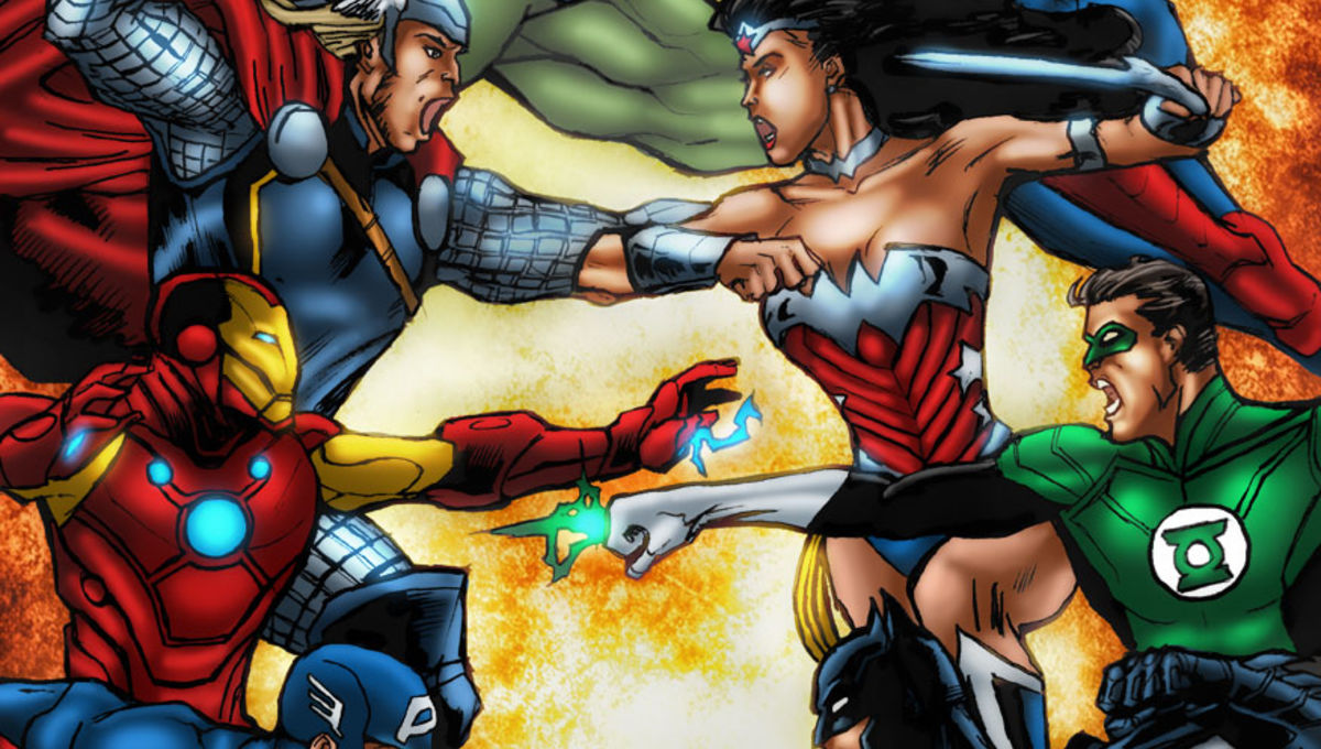 Avengers vs Justice League