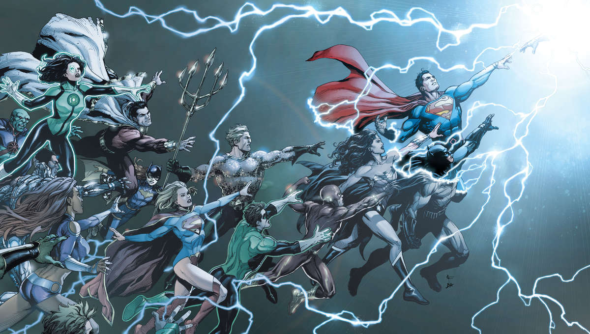 DC Universe Rebirth cover