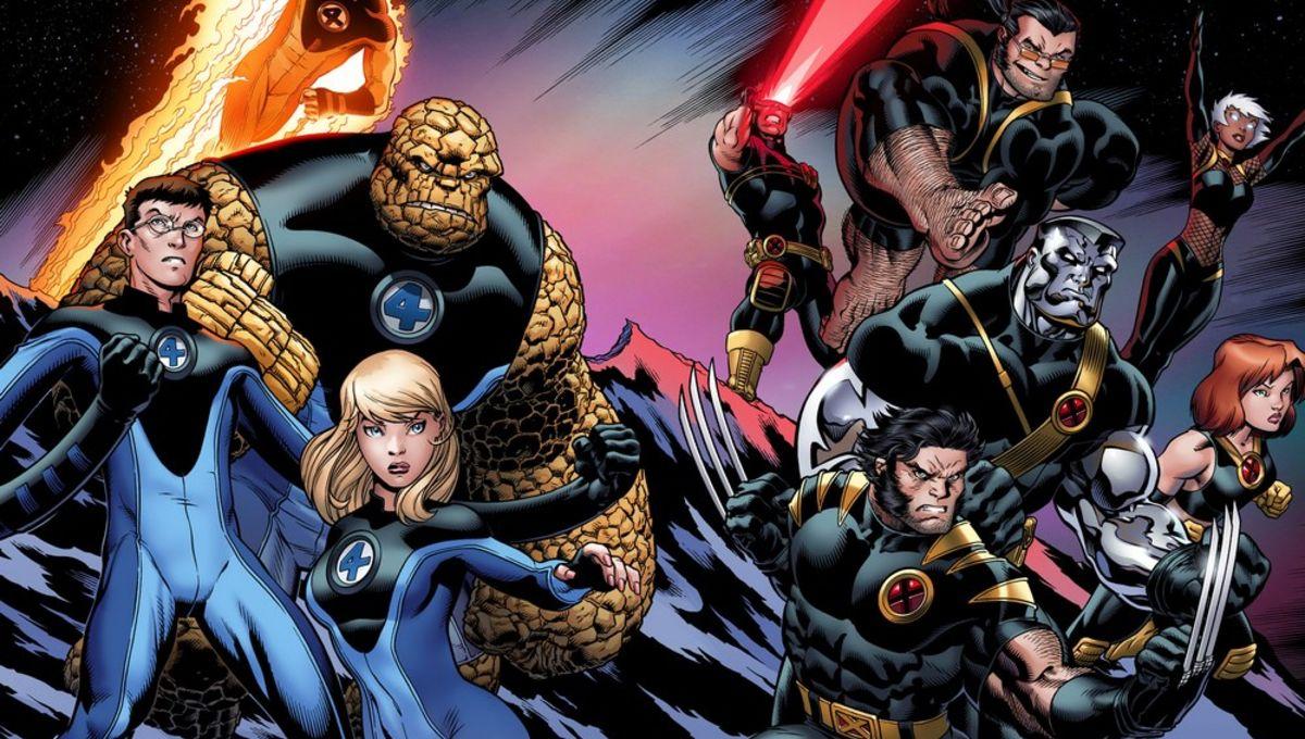 Fantastic Four X-Men