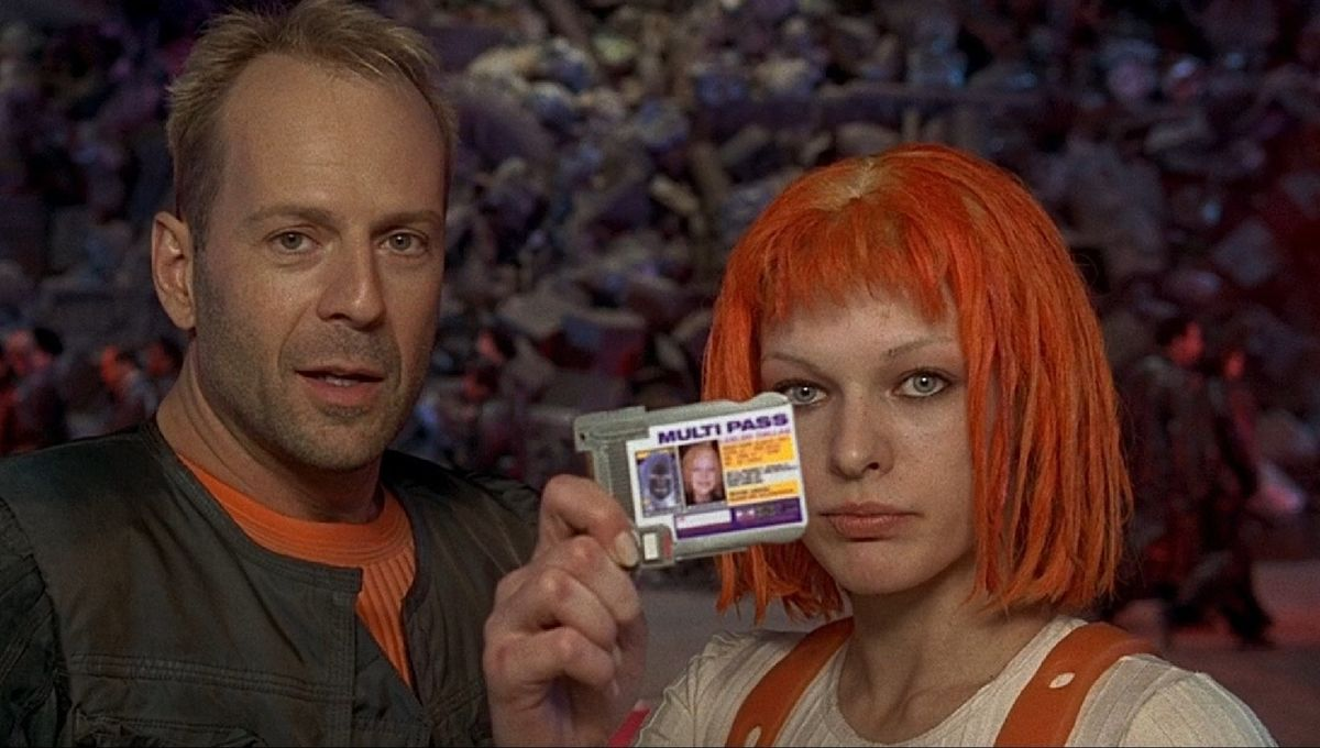 Little-known sci-fi fact: The Fifth Element's three original stars