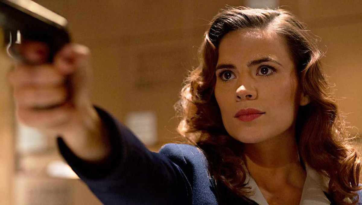 Hayley Atwell as Marvel's Agent Carter