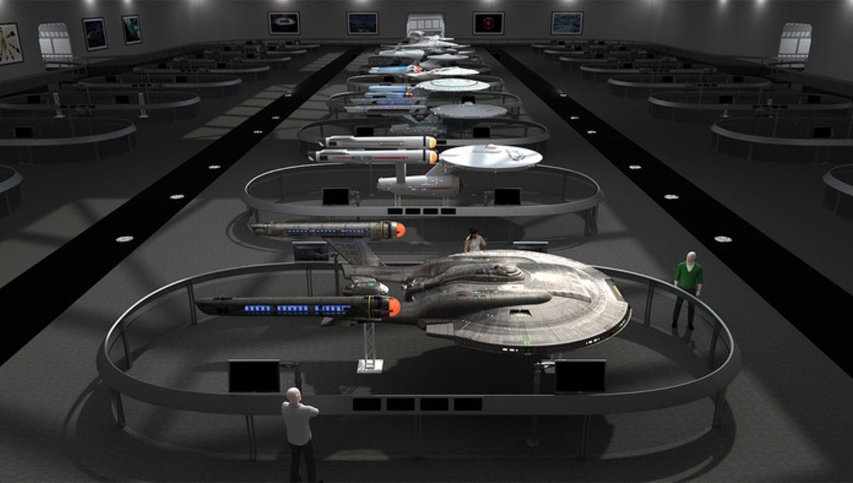 Hollywood Sci-Fi Museum Concept Art