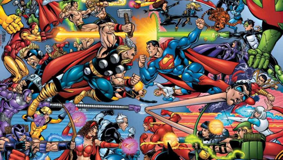 Remembering DC vs. Marvel: The ultimate 'Who would win in a fight ...