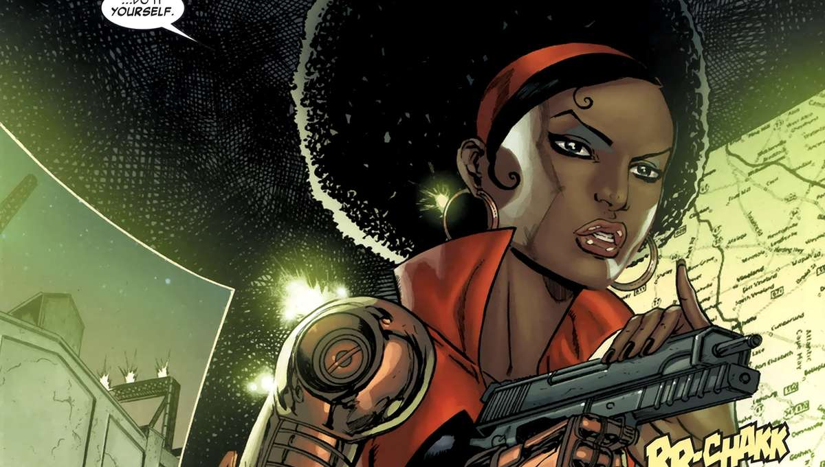 Misty Knight Marvel Comics
