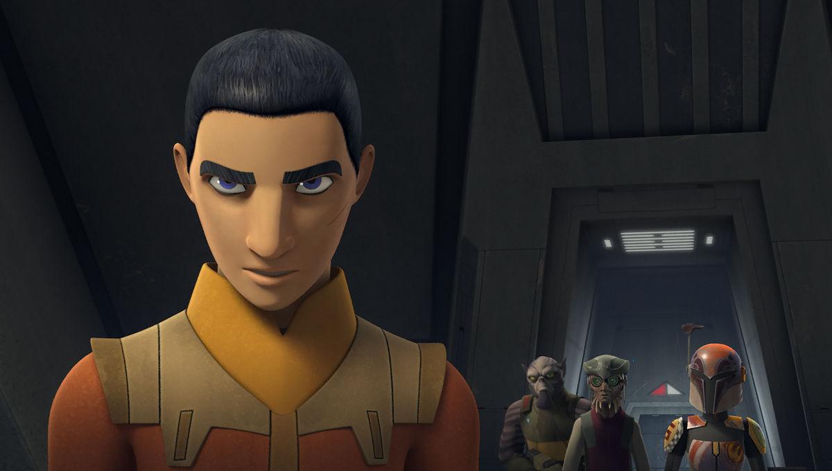 Star Wars Rebels season 3 Ezra