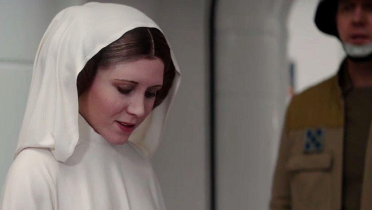 Rogue 1 Princess Leia
