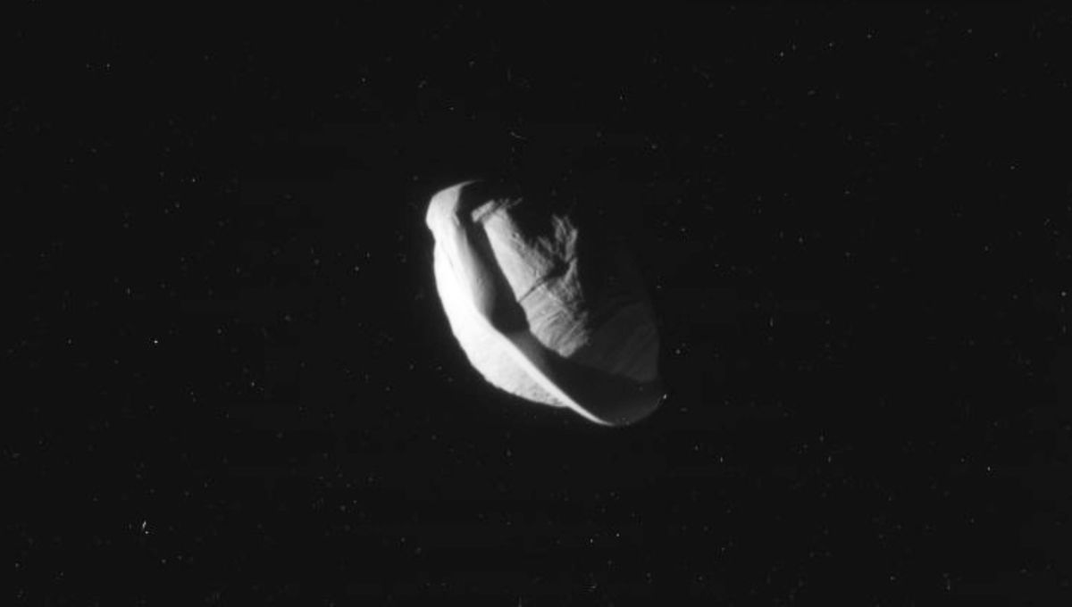 Saturn's moon Pan