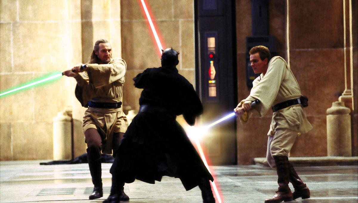 Star Wars: The Phantom Menace lightsaber duel