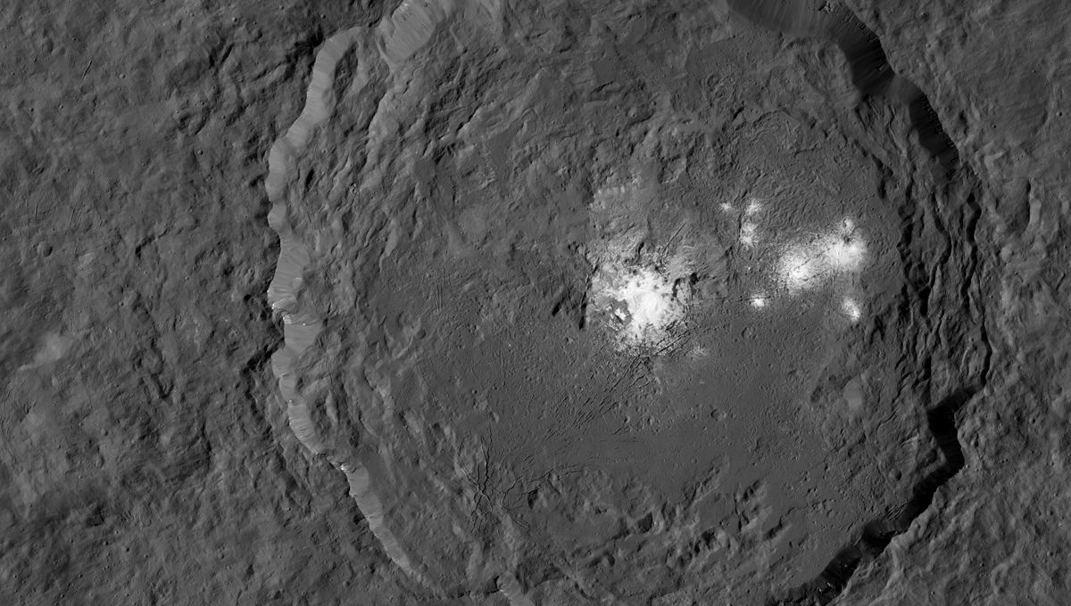 Occator crater on Ceres